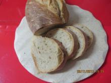 Brot: Pane Rustico - Rezept