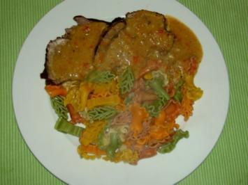 Rezept: Rindsbraten mit Nudeln