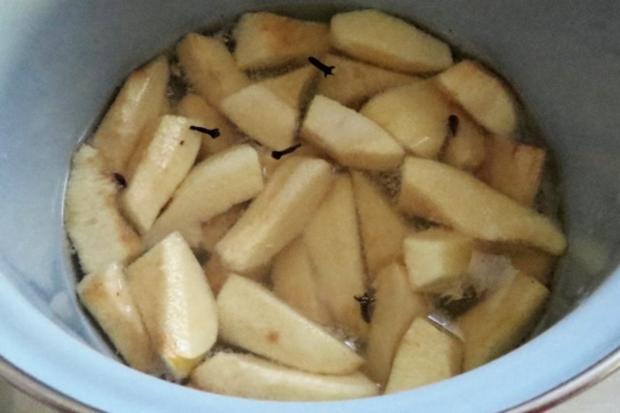 Dessert: Quitten in Sirup - Rezept - Bild Nr. 3