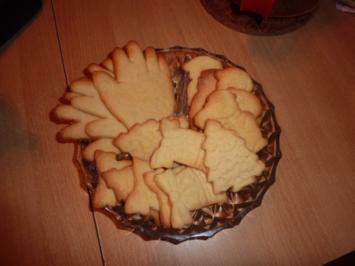 Weihnachten: Einfache Butterplätzchen - Rezept