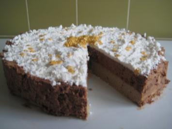 Rezept: Zimt - Schoko - Mousse - Torte
