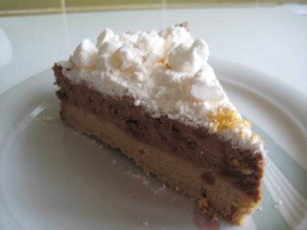 Zimt - Schoko - Mousse - Torte - Rezept - Bild Nr. 5