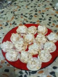 Rezept: Weihnachtsplätzchen: Kokosmakronen