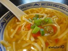 Pikant scharfe China Suppe - Rezept