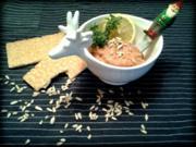 vegetarischer Brotaufstrich ( Tomate Kräuter) - Rezept