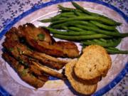 Lammkoteletts und grüne Bohnen ... - Rezept