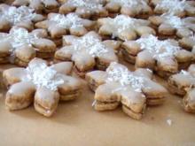 Schneeflockenplätzchen - Rezept