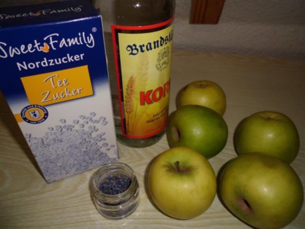 Liköre: Apfellikör mit Lavendel - Rezept - Bild Nr. 2