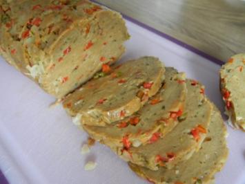 Vegan : Meine Paprika - Vurst ... selbstgemacht :-) - Rezept