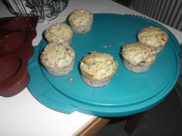 Flammkuchen Muffins - Rezept
