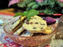 Sablés mit Minze und Schokolade - Rezept