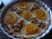 Weihnachtliche - Orangen - Quark- Torte - Rezept