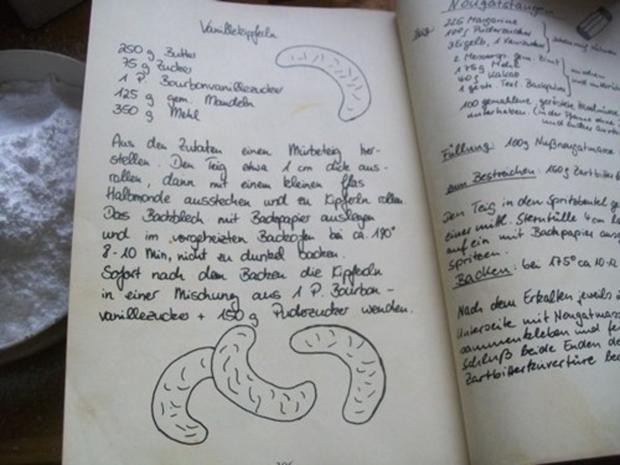 Plätzchen: Opa`s Vanillekipferl - Rezept - Bild Nr. 3