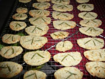 Parmesan Rosmarin Cracker - Rezept