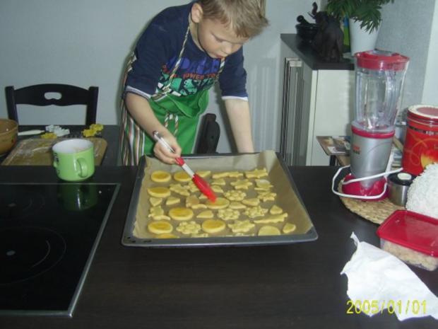 Weihnachtsplätzchen: Backen mit Kindern.... - Rezept - Bild Nr. 7