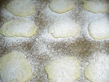Creme fraiche Wölkchen - Rezept