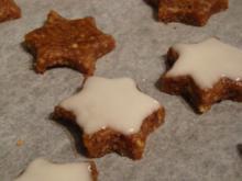 Zimtsterne , eine Variante von Johann Lafer - Rezept