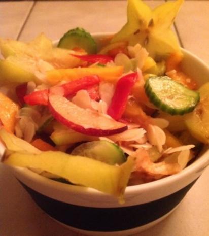 Obst-Gemüse-Salat - Rezept - Bild Nr. 2