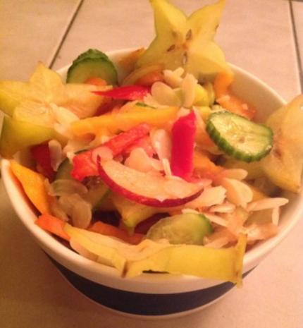 Obst-Gemüse-Salat - Rezept - Bild Nr. 3