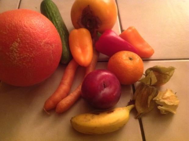 Obst-Gemüse-Salat - Rezept - Bild Nr. 4