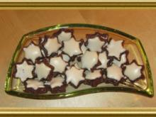 Marzipan-Zimt-Sterne - Rezept