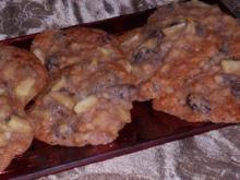 Weihnachtsgebäck: Bratapfel-Zimt-Cookies - Rezept