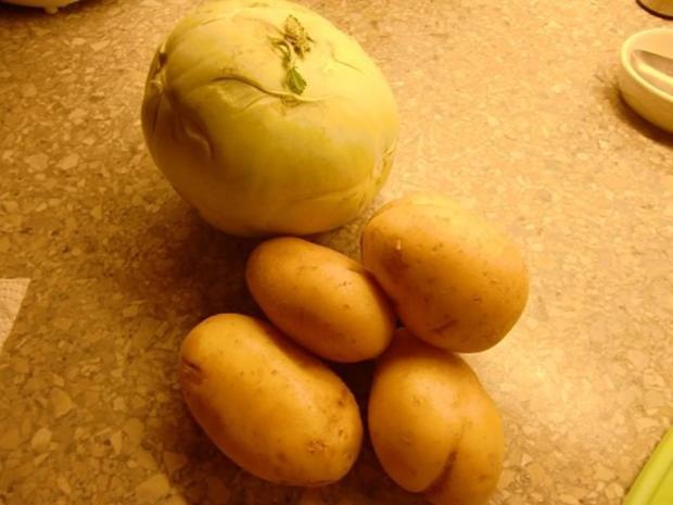 Kohlrabi-Kartoffelstampf à la Heiko - Rezept - Bild Nr. 2