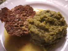 Fleisch: Hackbraten mit Wirsinggemüse - Rezept