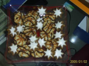 Weihnachtsplätzchen: Duftende Zimtsterne..... - Rezept