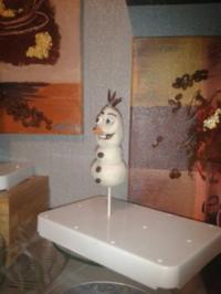 Cake Pops   - Olaf - - Rezept