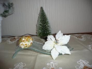 Rezept: Weihnachtliche Frischkäsepraline