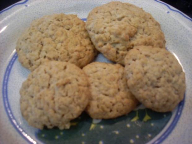 Haferflocken-Kekse.... ohne Schnick-Schnack - Rezept