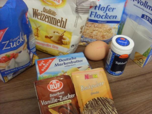 Haferflocken-Kekse.... ohne Schnick-Schnack - Rezept - Bild Nr. 3