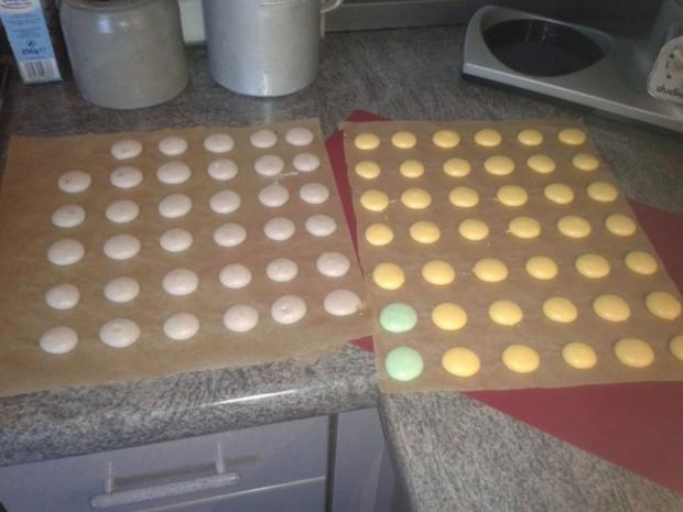 Luxemburgerli - Macarons - in vier Geschmacksrichtungen - Rezept - Bild Nr. 2