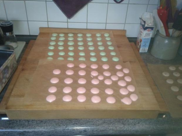 Luxemburgerli - Macarons - in vier Geschmacksrichtungen - Rezept - Bild Nr. 3