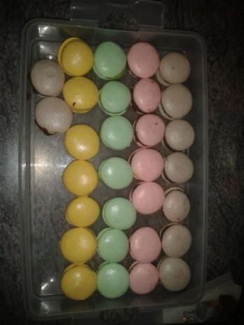 Luxemburgerli - Macarons - in vier Geschmacksrichtungen - Rezept - Bild Nr. 5