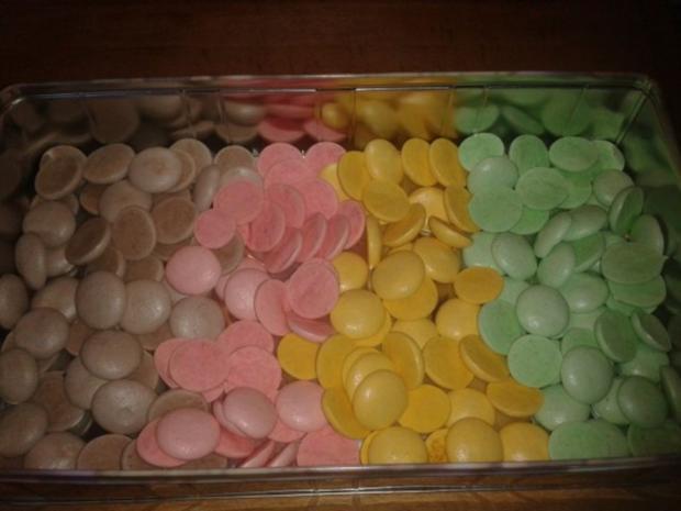 Luxemburgerli - Macarons - in vier Geschmacksrichtungen - Rezept - Bild Nr. 4