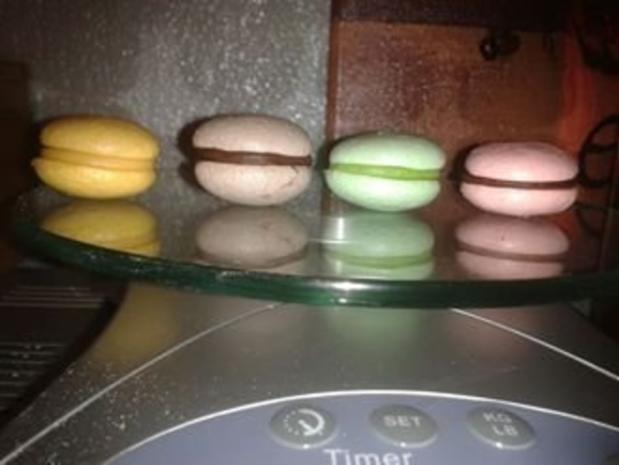 Luxemburgerli - Macarons - in vier Geschmacksrichtungen - Rezept