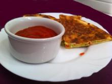 Quesadillas mit Paprika - Rezept