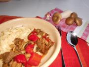 Schnelles Pilzgulasch>> - Rezept