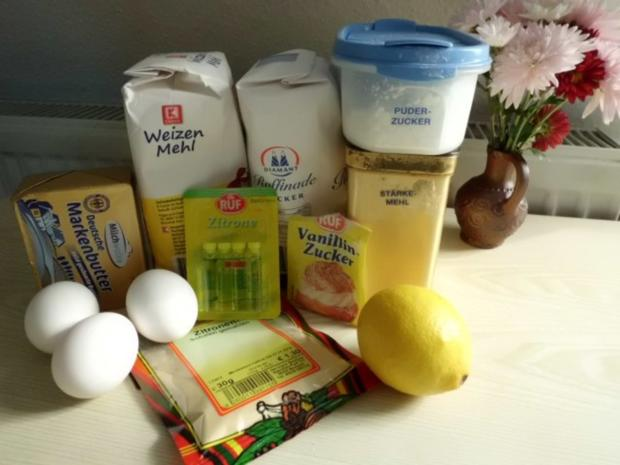 Plätzchen: Zitronen-Plätzchen - Rezept - Bild Nr. 2