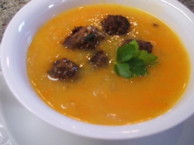 Suppen: Zwiebelsuppe nach Kühlschrankart - Rezept - Bild Nr. 2