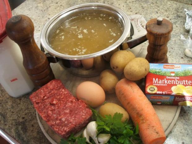 Suppen: Zwiebelsuppe nach Kühlschrankart - Rezept - Bild Nr. 3