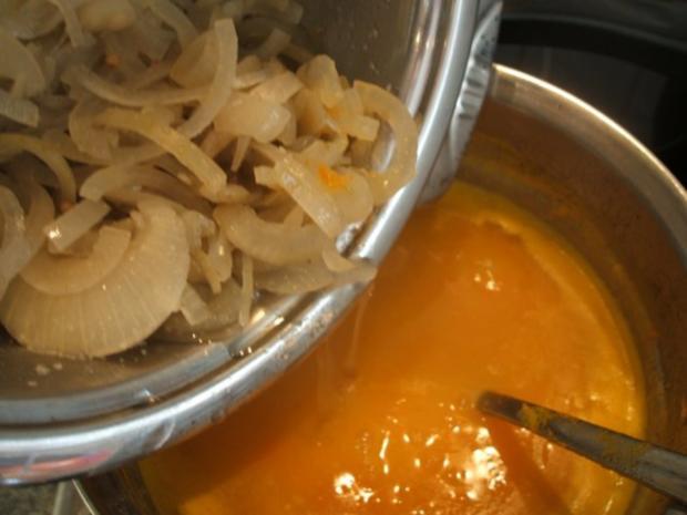 Suppen: Zwiebelsuppe nach Kühlschrankart - Rezept - Bild Nr. 9