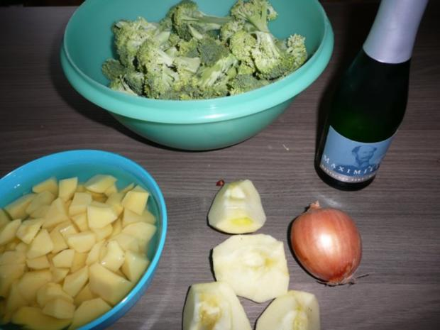 Broccoli - Schaumsuppe - Rezept