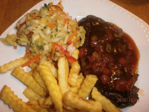 Monkey Gland Steak mit Chakalaka-Krautsalat - Rezept - Bild Nr. 12