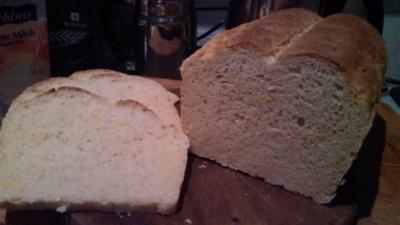 Corn Bread   /   Mais Brot / Brötchen - Rezept