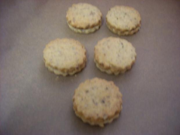 Nußplätzchen lecker gefüllt - Rezept - Bild Nr. 5