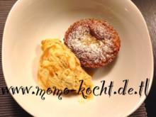 lauwarme Schokoküchlein mit flüssigem Kern - Rezept