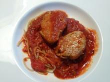 Feuriges -Tomatiges-Schweinefilet-Gulasch - Rezept